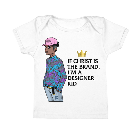"""Designer Kid"" Infant Tee"
