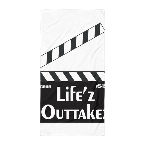 Outtakez Logo Beach Blanket