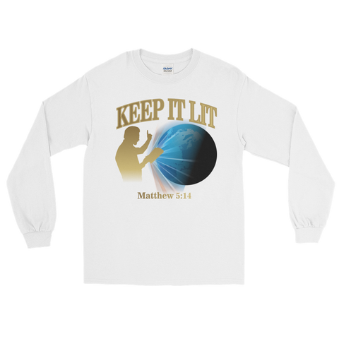 """Keep It Lit"" Long Sleeve T-Shirt"