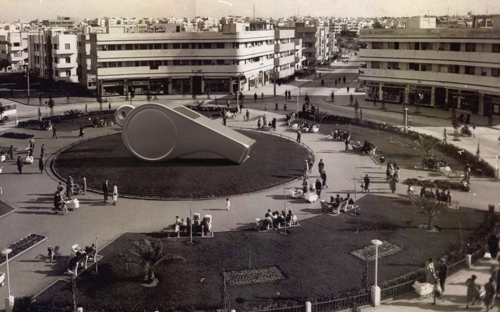 The Whistle - Dizengoff Square, Tel Aviv 1938