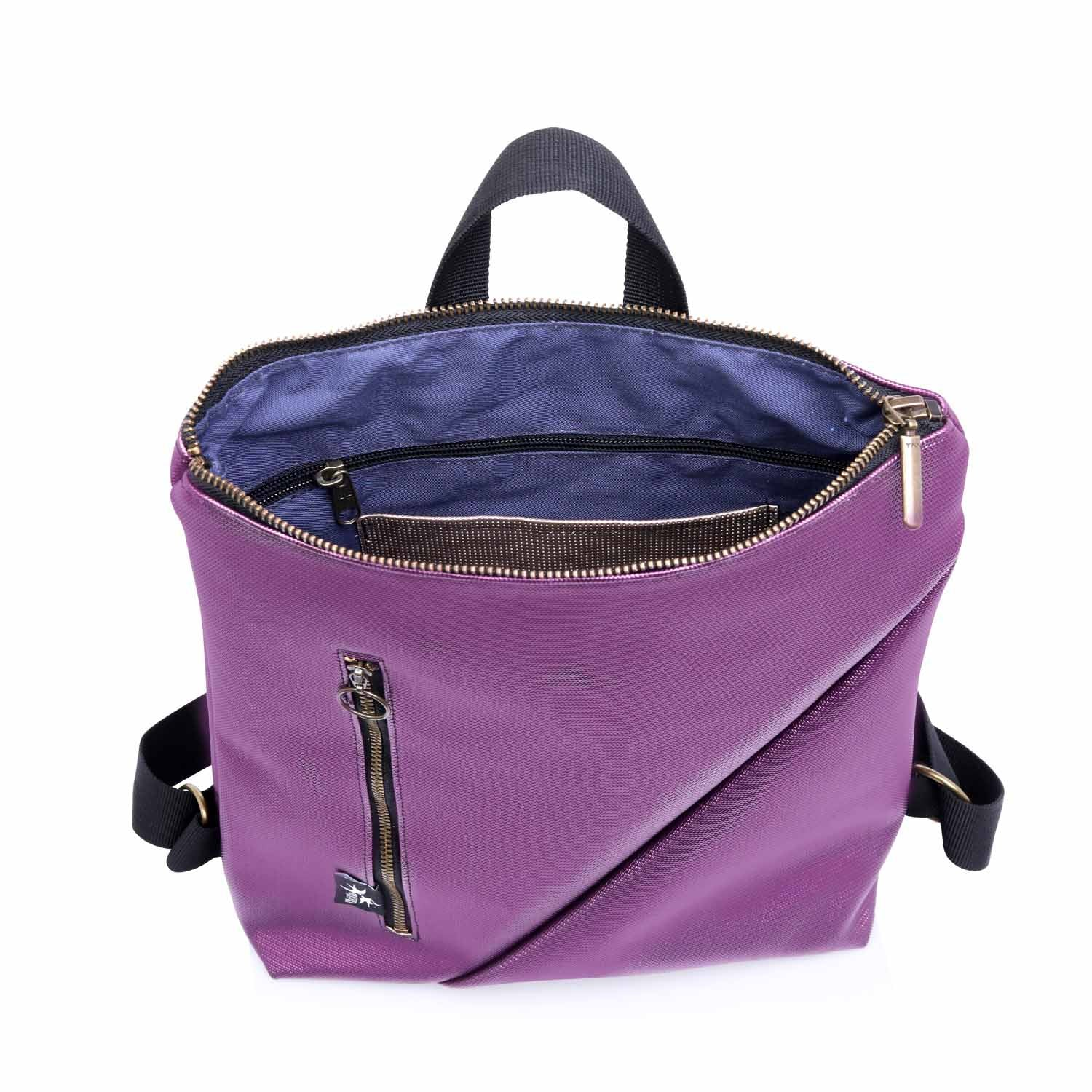 Reut Purple Backpack