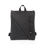 Reut Matt Black Backpack