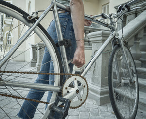 Transparent Bicycle Handle