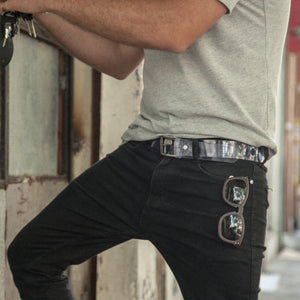 Transparent Vegan Belt For Men