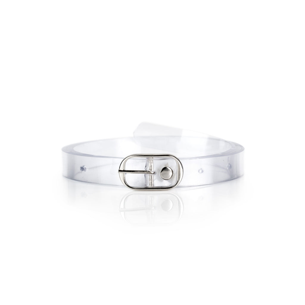 Clear 20mm Vegan Belt