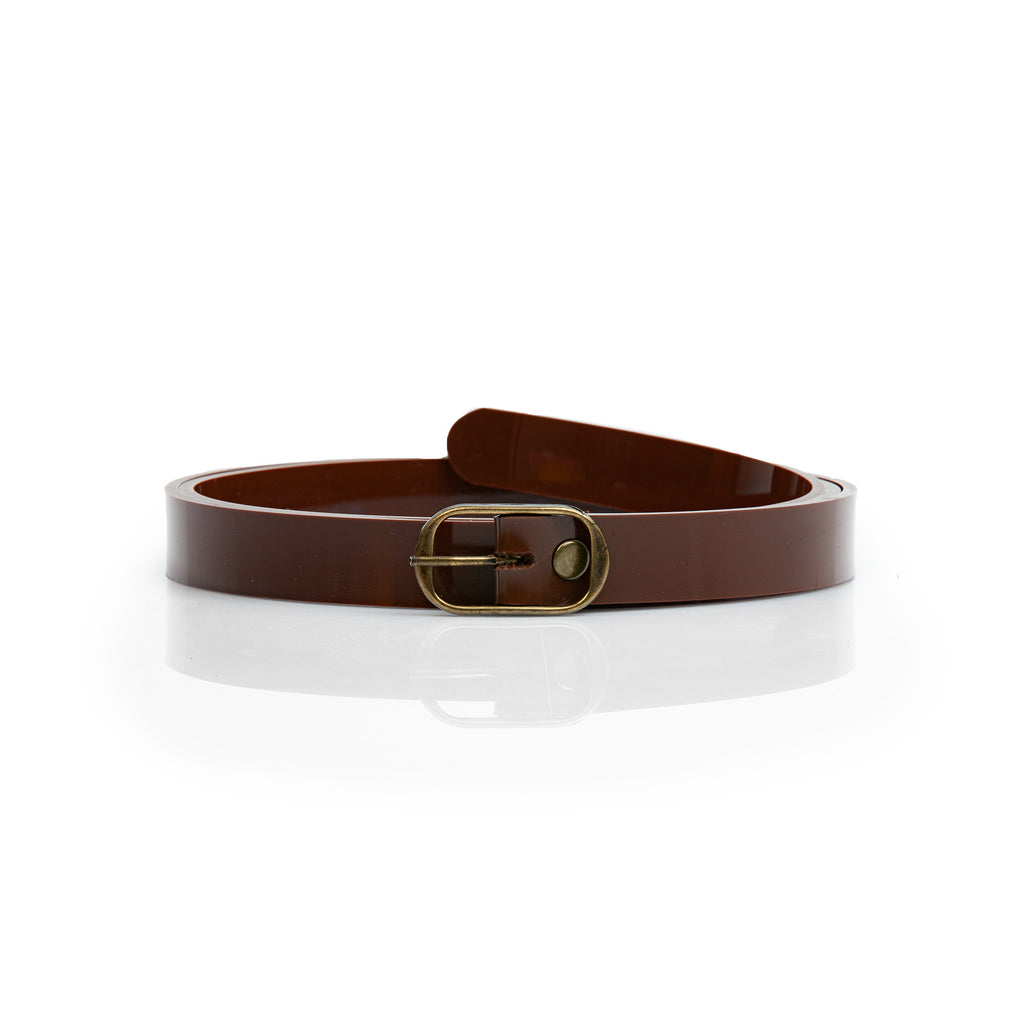 Woman Brown Vegan Belt