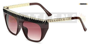 Red Wine Tiara Sunglasses