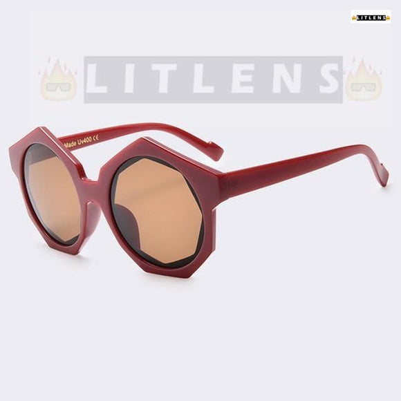 Red Garnet Dragon Sunglasses