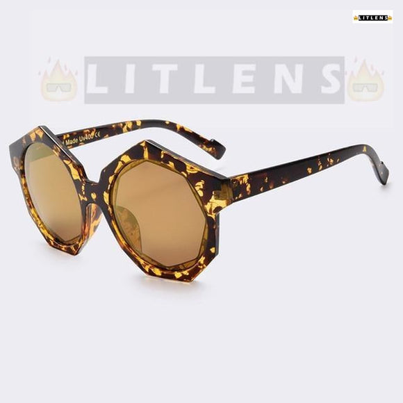 Cheetah Print Dragon Sunglasses