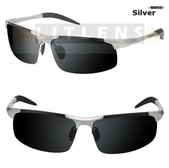 Silver Professional SunGlasses