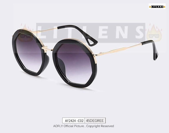 Mulberry Purple Telescope Sunglasses