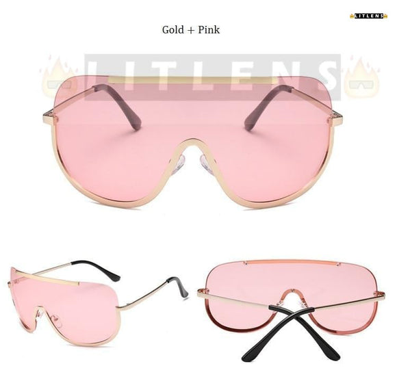 Watermelon Pink Dirty Diana Sunglasses