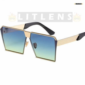Aquatic Green Sunkist Sunglasses