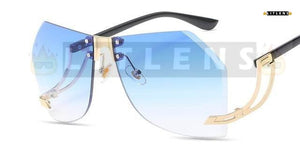 Baby Blue Mary Sunglasses