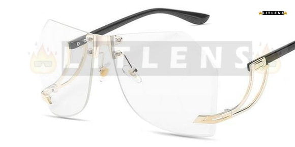 Clear Mary Sunglasses