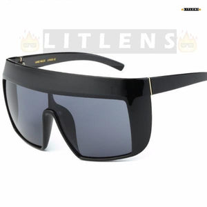 Dark Grey TRON Sunglasses