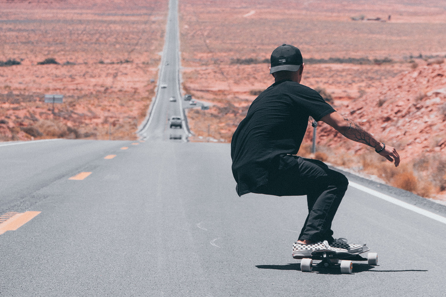 Monument Valley Navajo Tribal Park Longboarding