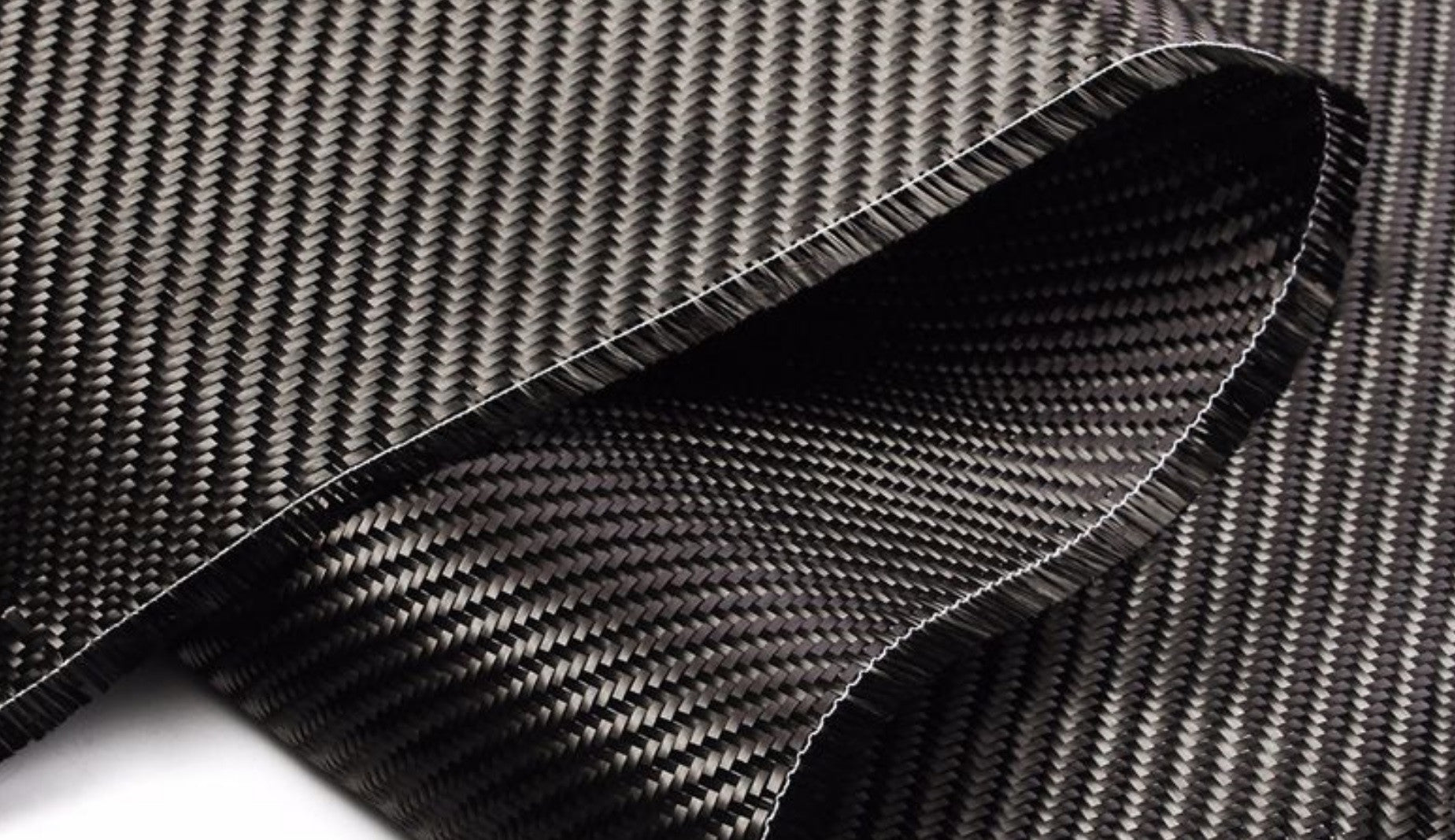 Example of carbon fiber fabric