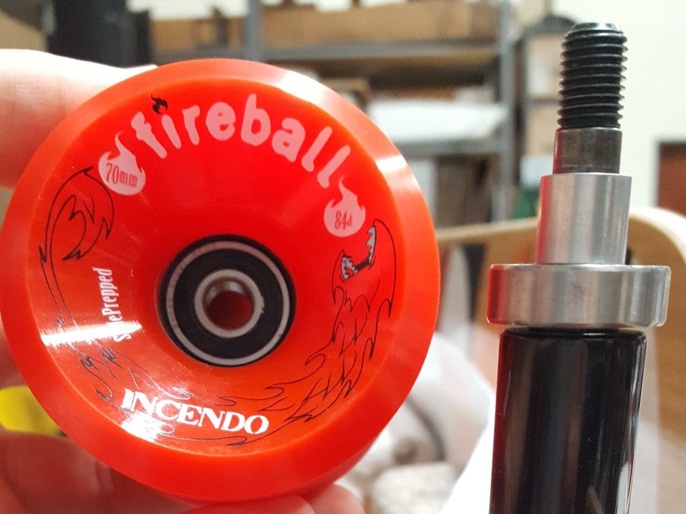 First Bearing Install in Fireball Longboard Wheel