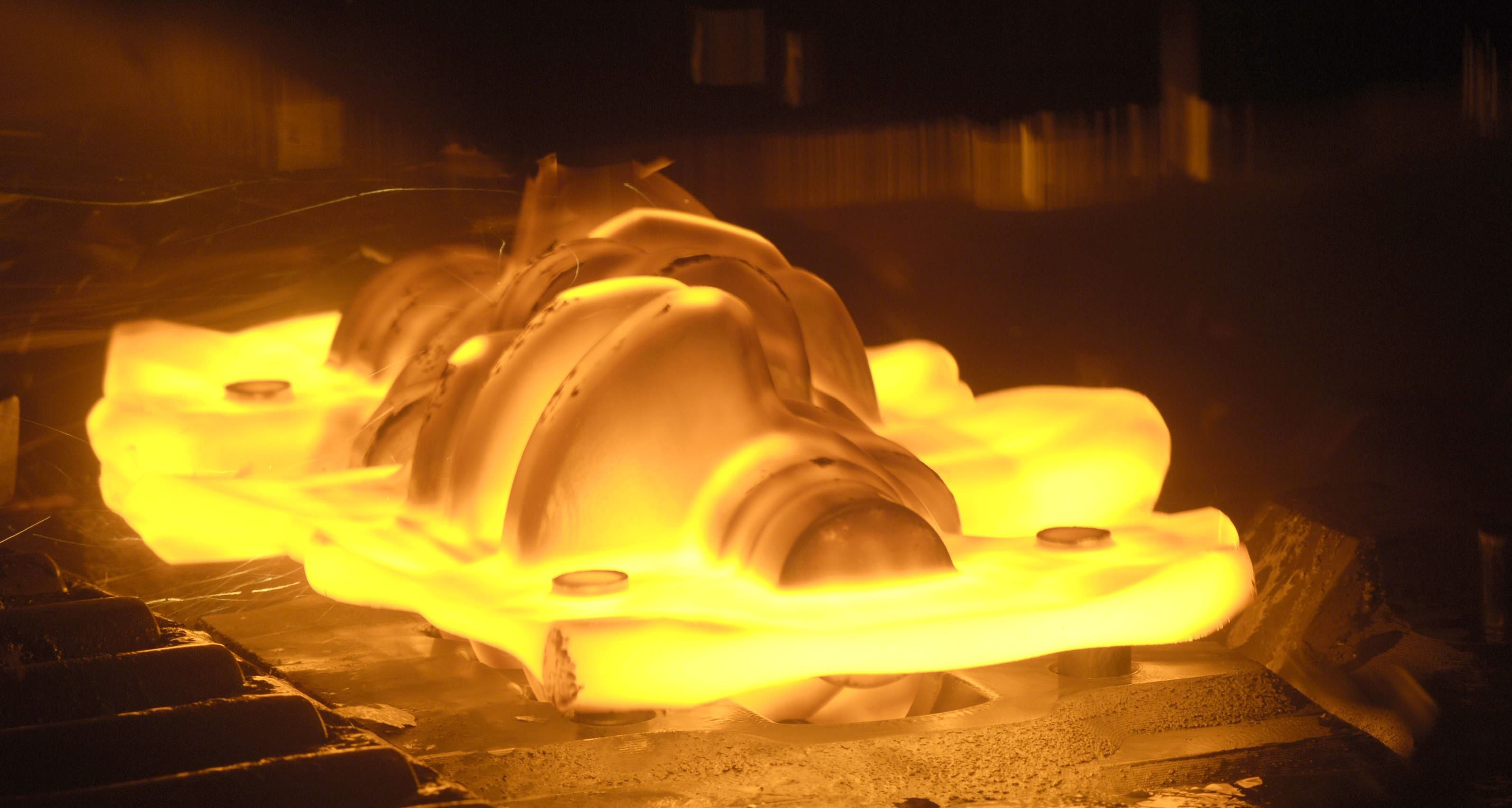 Example of Forging Metal