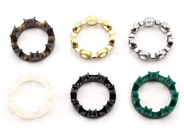 Skateboard Bearing Retainers (aka Cages or Crowns)