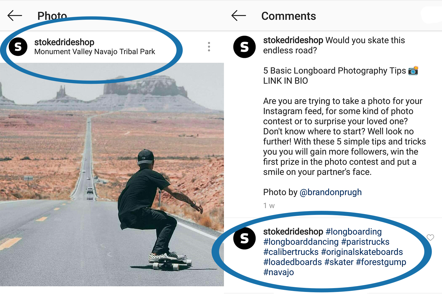 Hashtags and Geo Tags on Instagram - Longboard Tutorial Original Skateboards