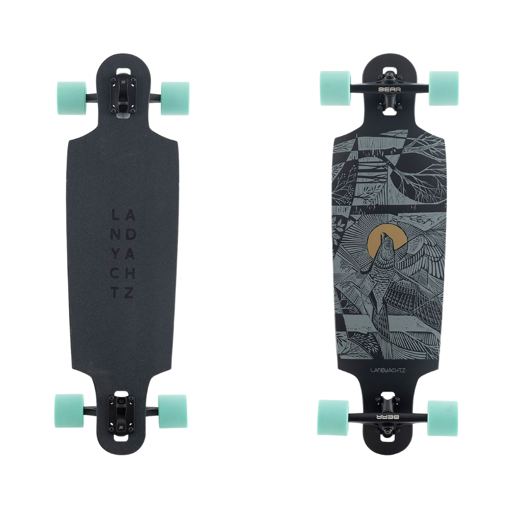 Landyachtz Drop Cat 33 Complete, Seeker Black