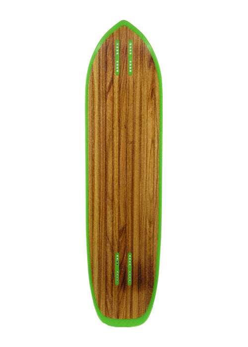 Moonshine Outlaw Longboard, Deck and Complete