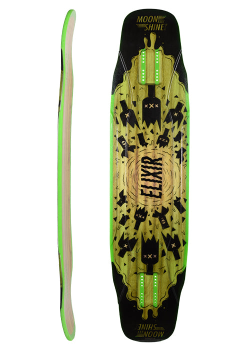 Moonshine Elixir Longboard, Deck and Complete
