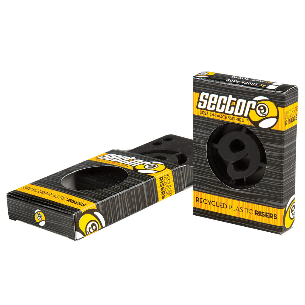 Sector 9 Riser Pad Packs, Angled/Shock/Hard