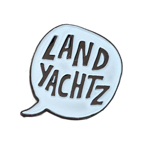 Landyachtz Pin, Speech Bubble