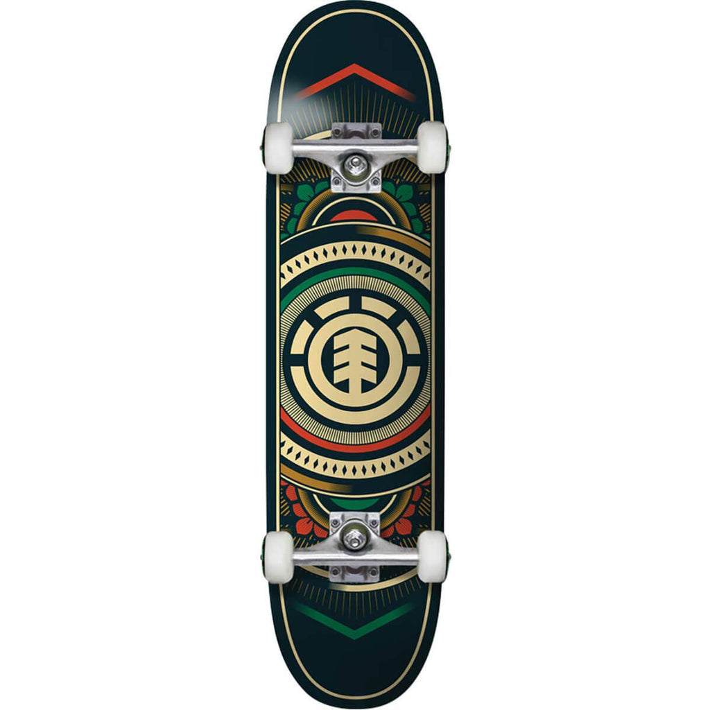 "Element Skateboards Hatched Complete Skateboard - 7.7"" x 32"""