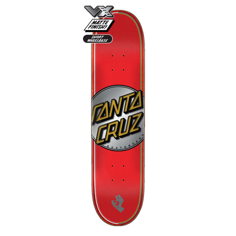 Santa Cruz Steadfast Dot VX Deck 7.75""
