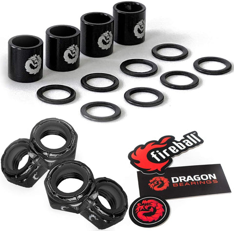 Fireball Dragon Speed Kit, Black