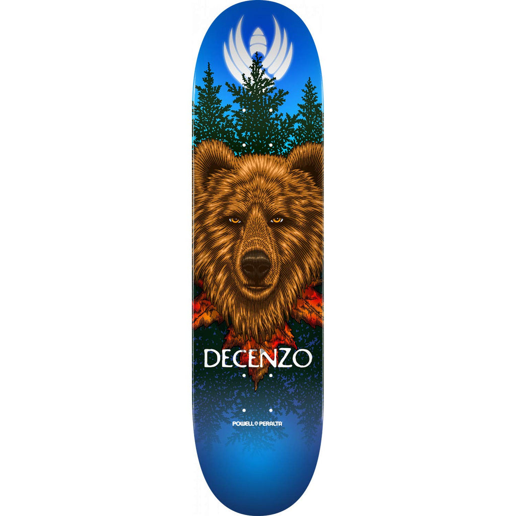 Powell-Peralta Flight Decenzo Pro Bear Skateboard Deck, Shape 248 8.25""