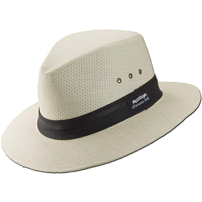 Panama Jack Matte Toyo Safari with Pleat