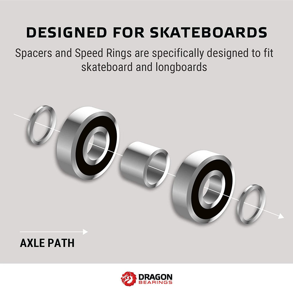 Dragon Spacers and Speed Rings (24 Rings 12 Spacers )