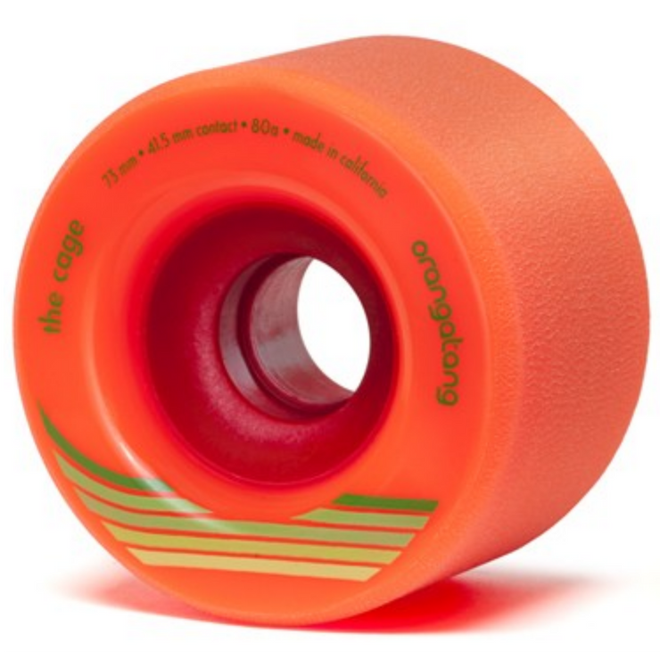 Orangatang The Cage Longboard Wheels, 73mm