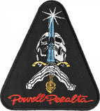 Powell Peralta Skull and Sword Patch, 3.5 Inch