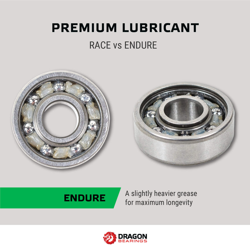 Dragon Bearings for Longboards and Skateboards