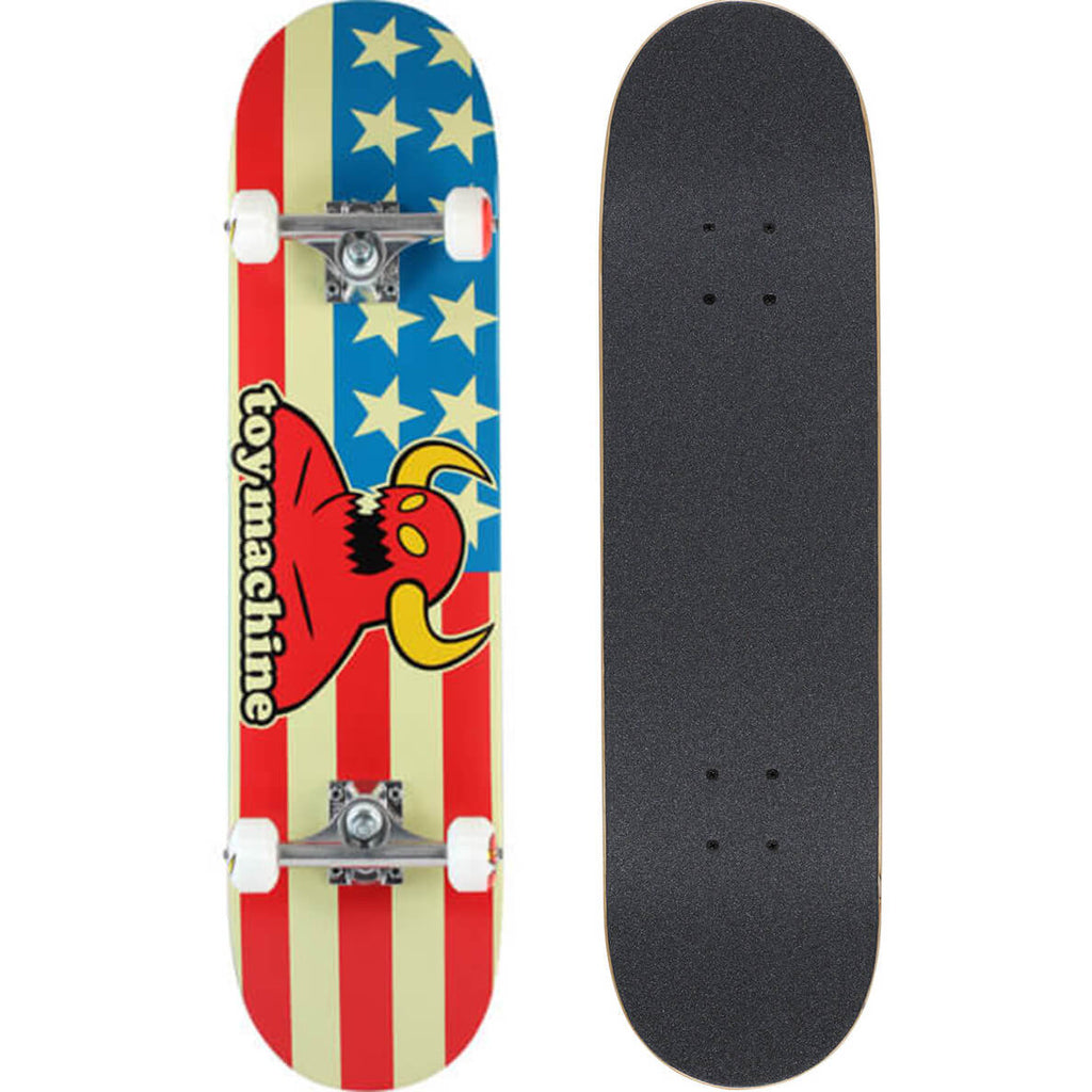 Toy Machine American Monster Skateboard Complete, 7.75
