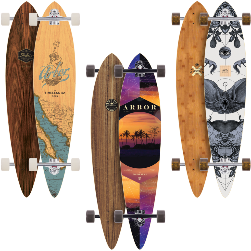 "Arbor Timeless 42"" Longboard Complete [All Series]"