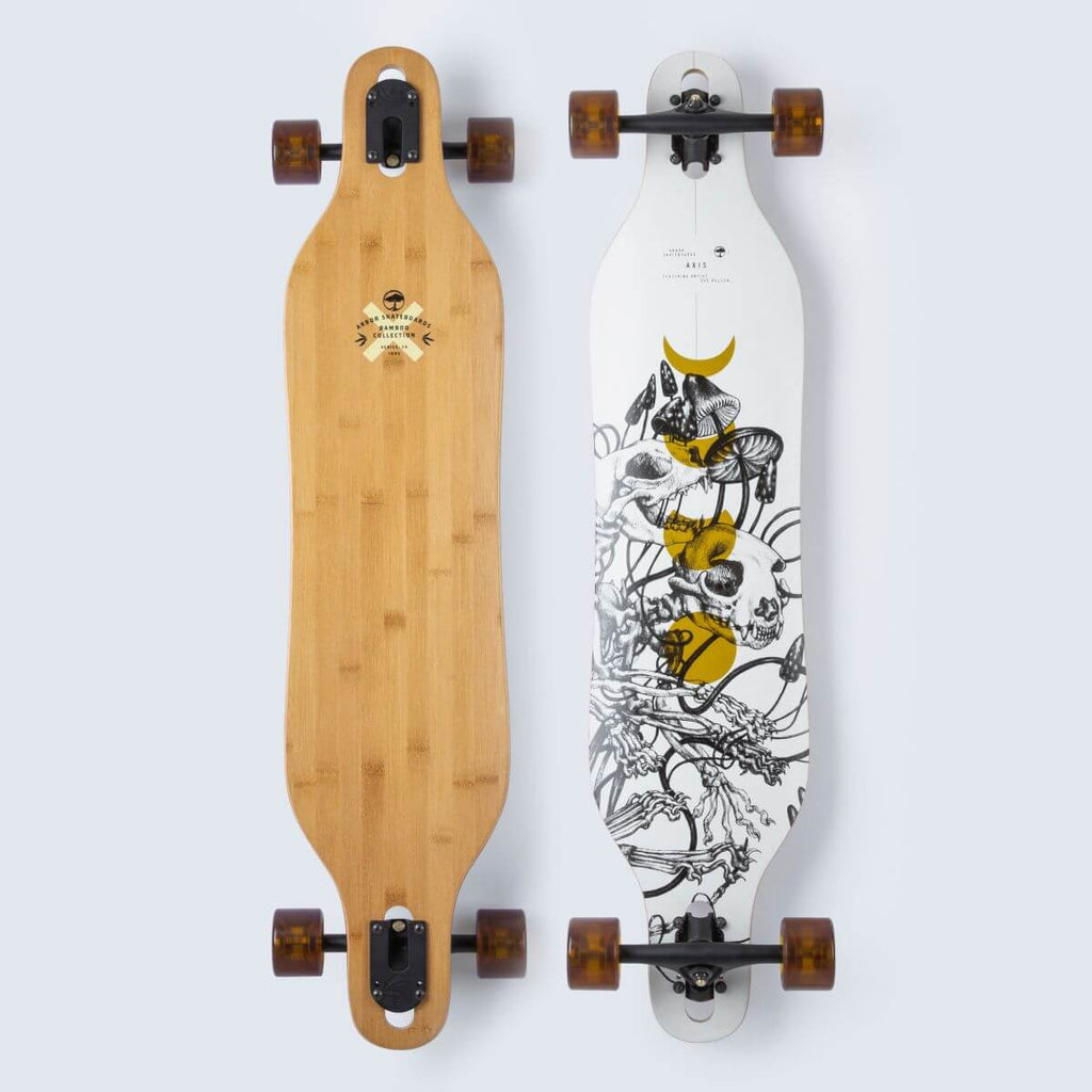 Arbor Axis 40 Bamboo Longboard, Complete