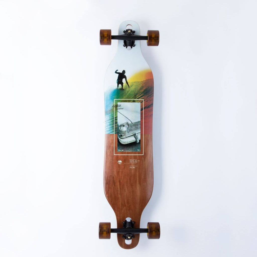 Arbor Axis 40 Photo Series Longboard, Complete