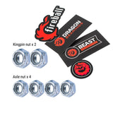 Fireball Dragon Axle & Kingpin Nuts Pack