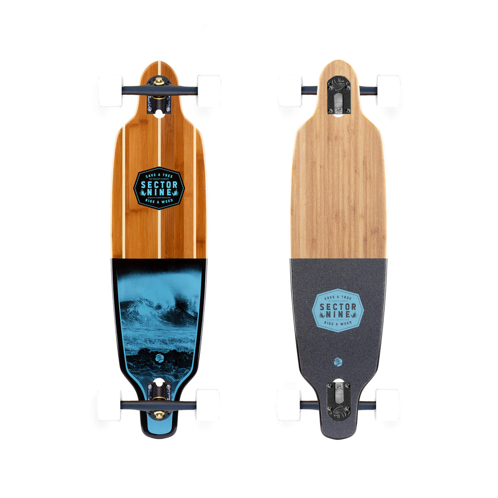 Sector 9 Bico Shoots Longboard Cruiser Complete