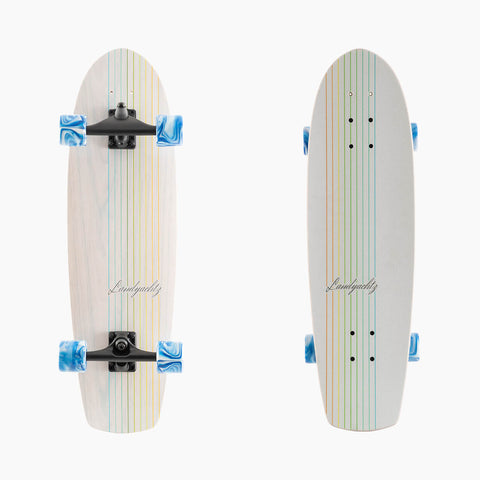 Surf Skate Series Skateboard, Butter White Oak Complete