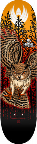 "Powell-Peralta Hatchell Pro Flight Owl Skateboard Deck, Shape 249, 8.5"" - 2021"