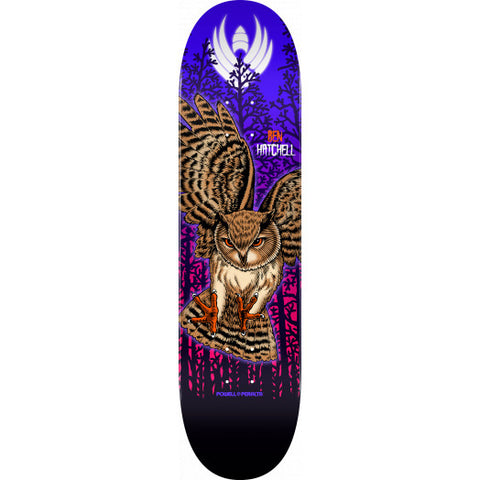 Powell-Peralta Hatchell Pro Flight Owl Skateboard Deck, Shape 249, 8.5""