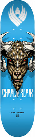 Powell-Peralta Flight Blair Pro Goat 2.0 Skateboard Deck, Shape 243, 8.25""